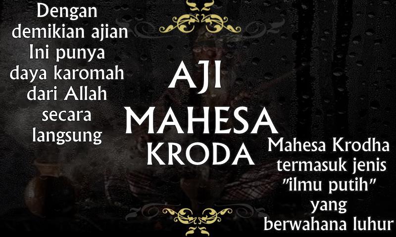 Aji Mahesa Krodha
